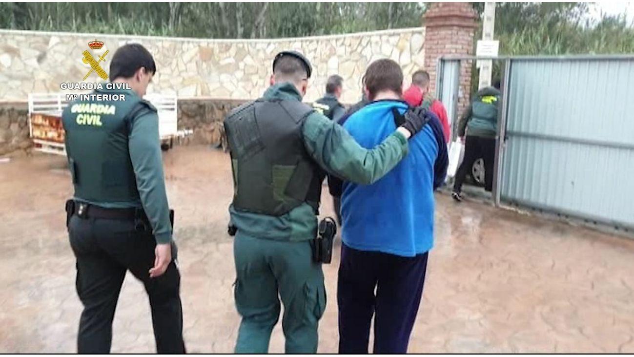 La Guardia Civil detiene a uno de los acusados de narcotráfico