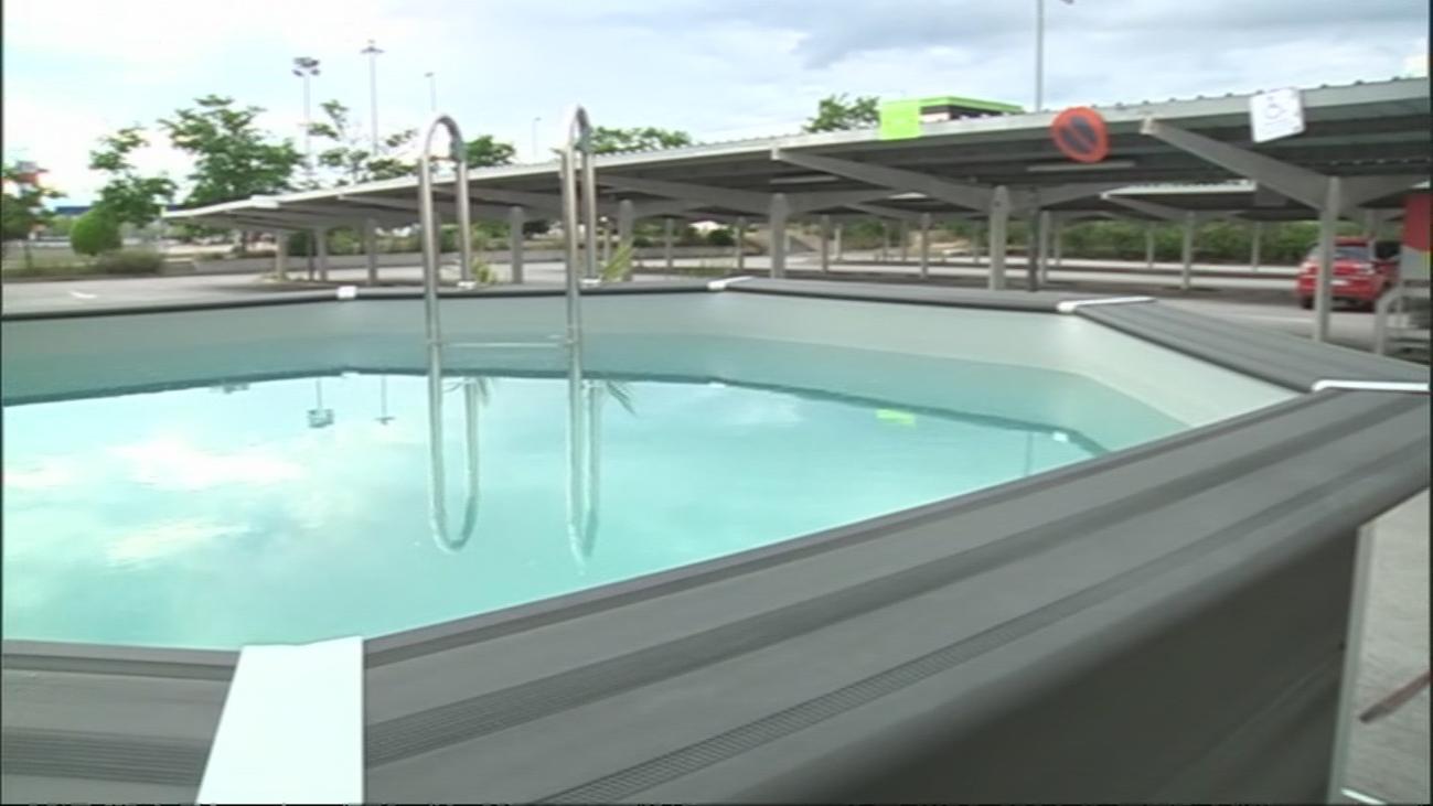 Se incrementa la venta de piscinas para este verano, en Leroy Merlin