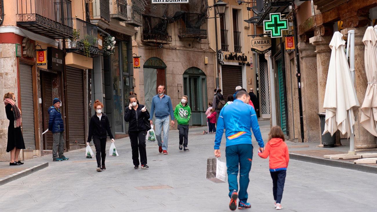 El 70% de la población española entra en la fase 1