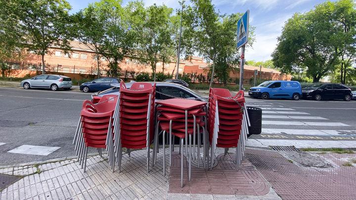 Sólo un 5% de las terrazas de Madrid abrirá si hay cambio de fase
