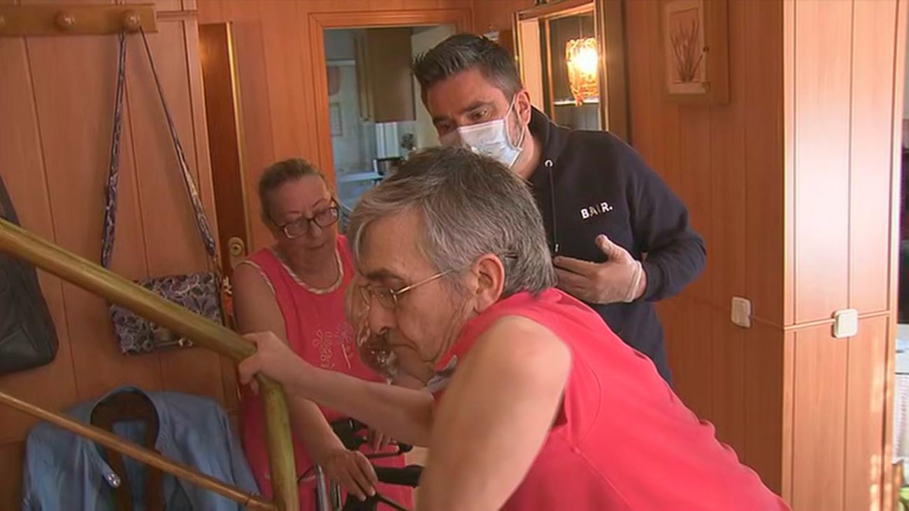 Un enfermo de ELA pide una vivienda adaptada al Ivima porque no puede ni moverse en su casa ni salir a la calle