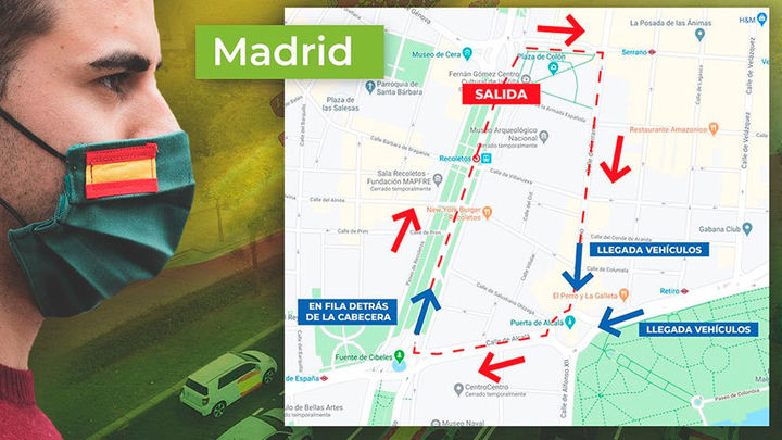 Vox podrá manifestarse en coche este sábado por Madrid