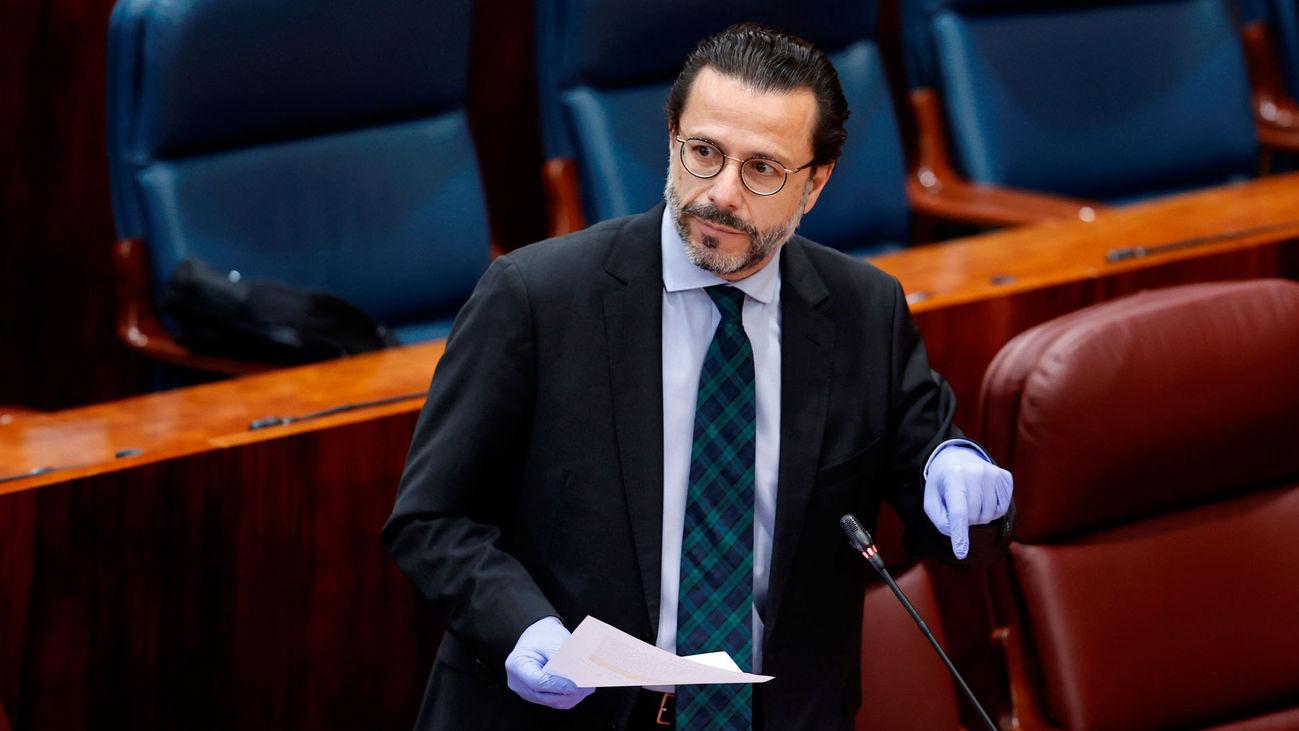 Javier Fernández-Lasquetty, consejero de Hacienda y Función Pública de la Comunidad de Madrid