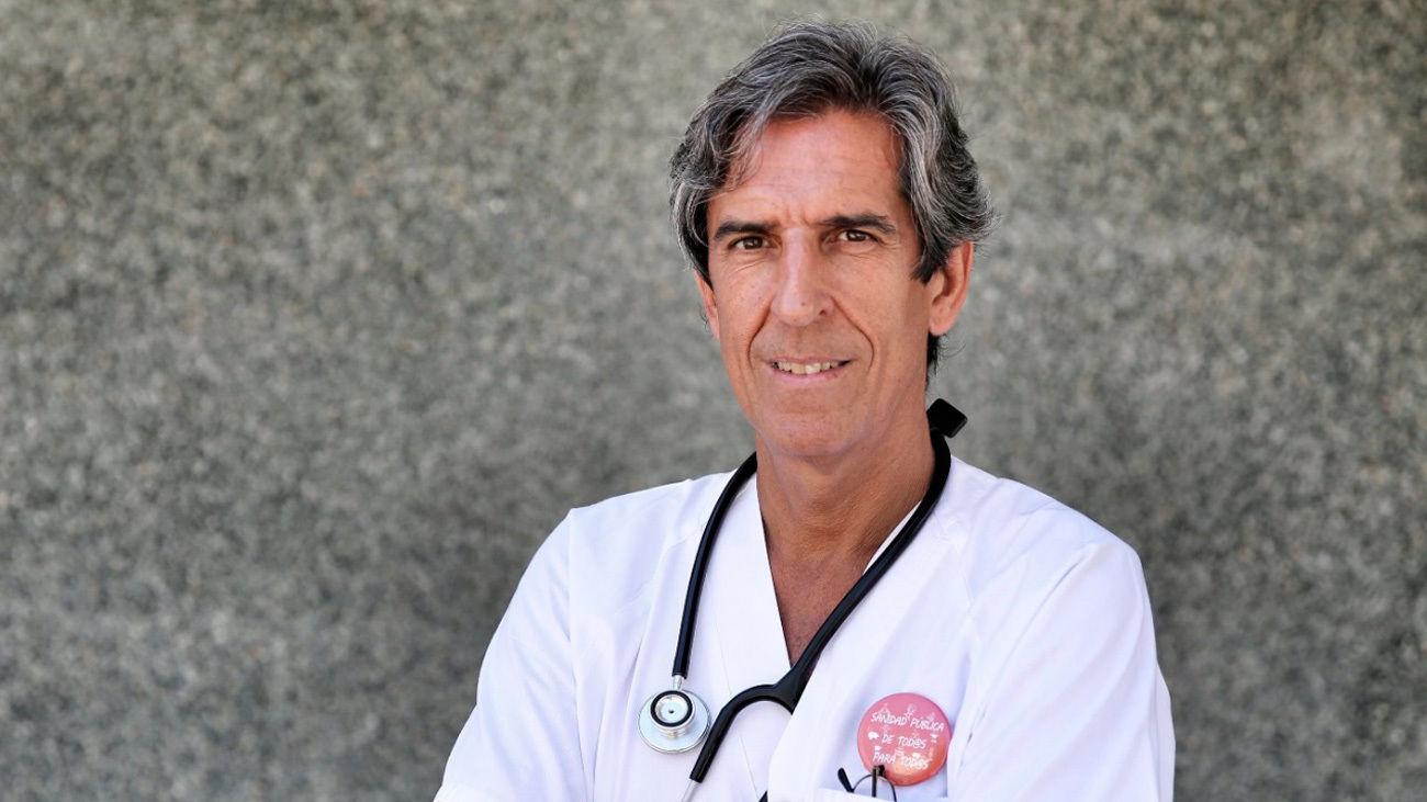 Miguel Ángel Sánchez Chillón, presidente del Colegio de Médicos de Madrid