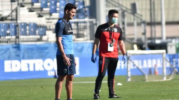 """Juan Ángel Piñero: """"Los jugadores del Fuenlabrada han vuelto muy, muy bien"""""""