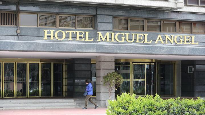 La actividad hotelera en Madrid fue nula durante el mes de abril por el coronavirus