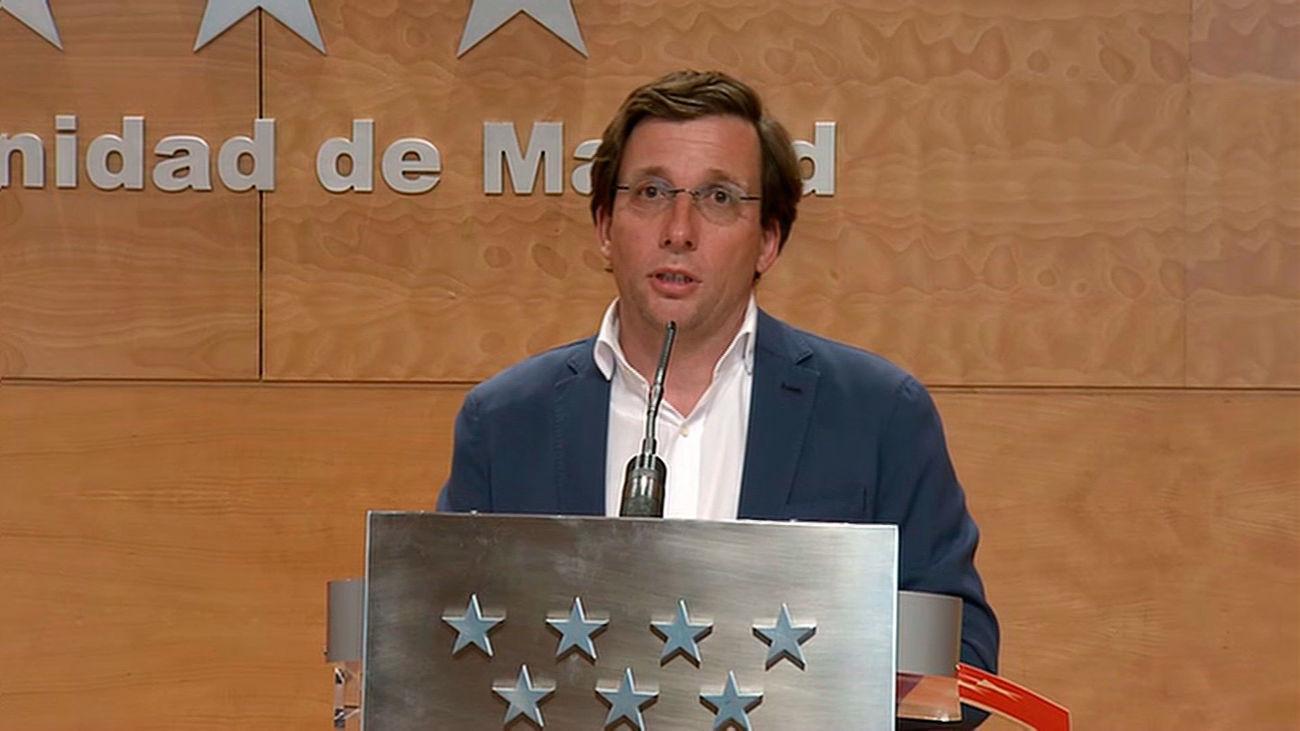 """Almeida  cree """"gravísimo"""" el cese de Pérez de los Cobos: """"Lo fulmina porque no le convienen los informes del 8-M"""""""