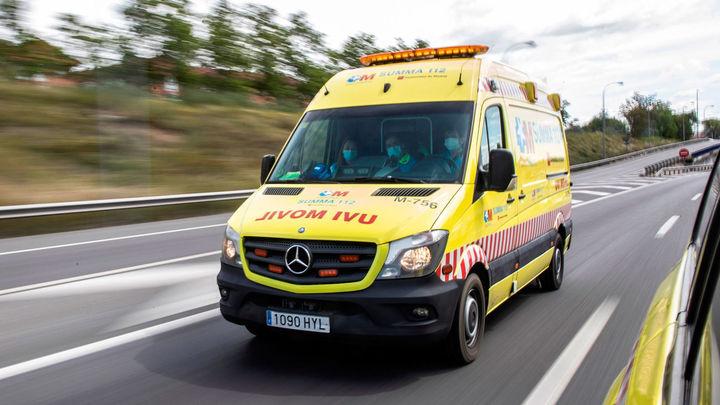 Un obrero herido en Rivas al caer de un camión