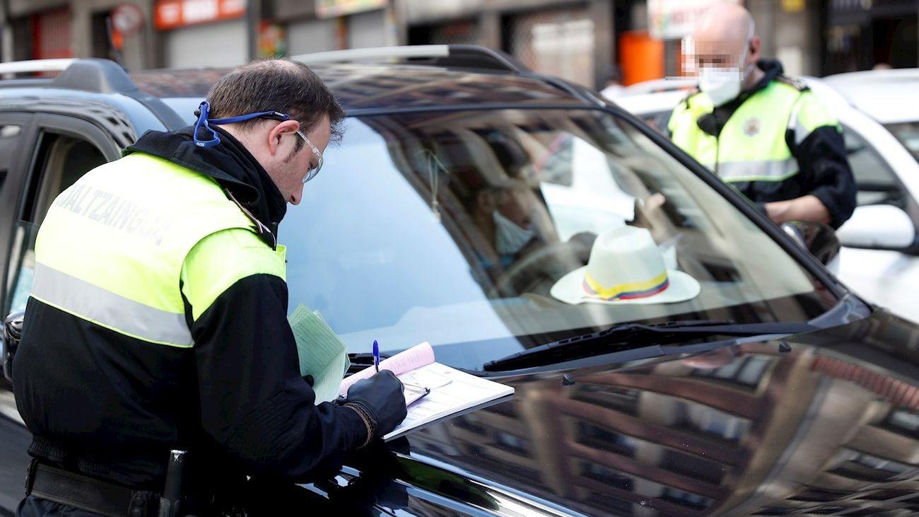 Policía Municipal de Madrid interpone una sanción