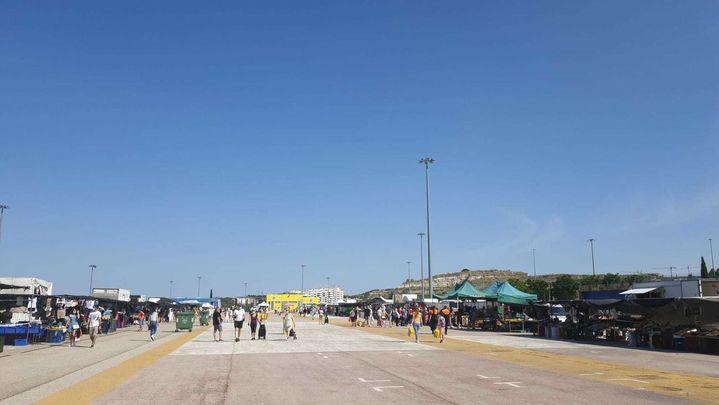 Los cuatro mercadillos de Rivas han reabierto este domingo