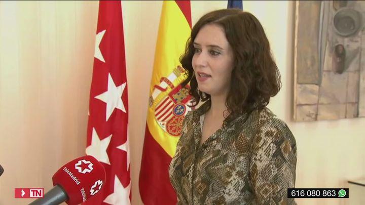 """Ayuso dice  que Madrid no pedirá el paso a la fase 3  porque """"ya no tiene sentido"""""""