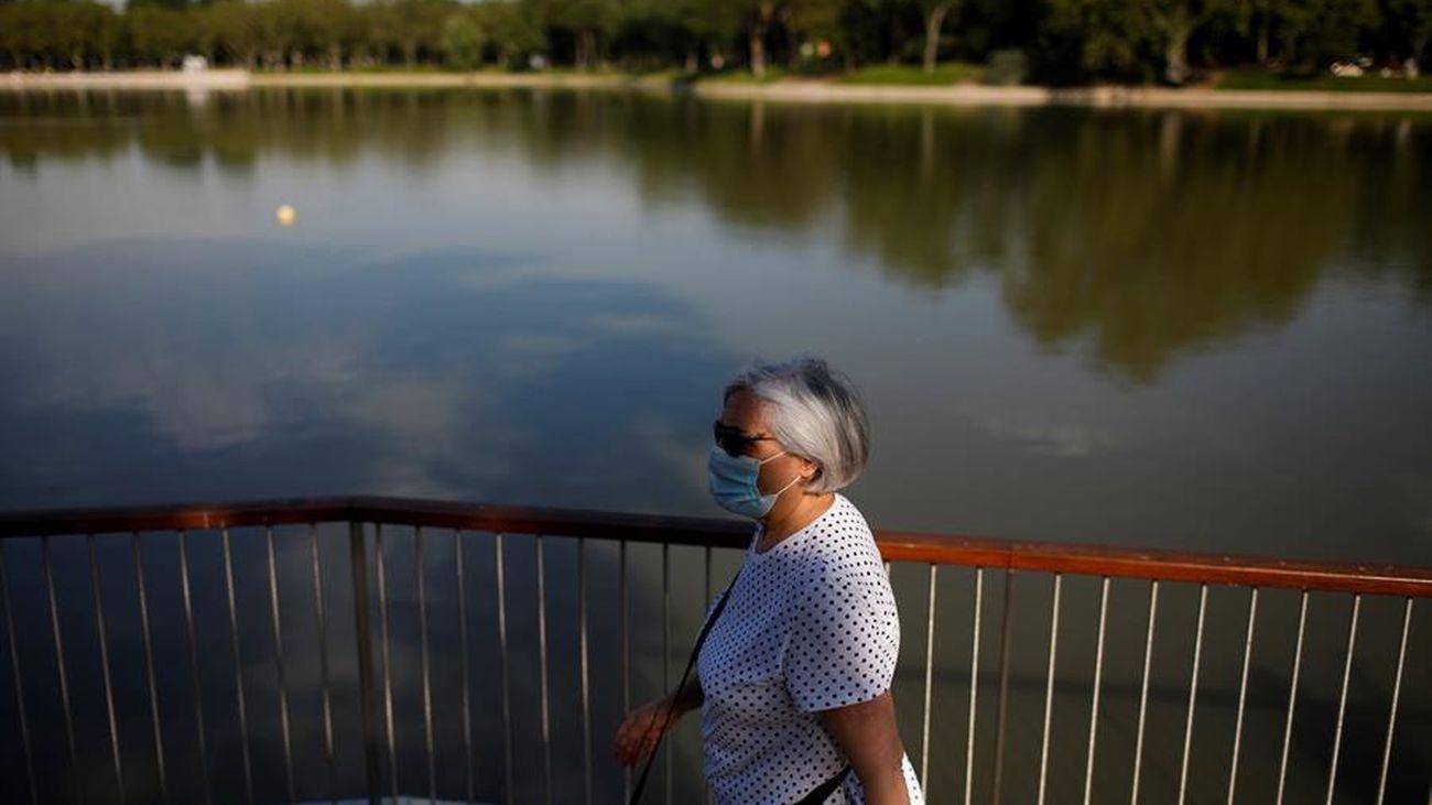 Un paseo al lado del lago de la Casa de Campo