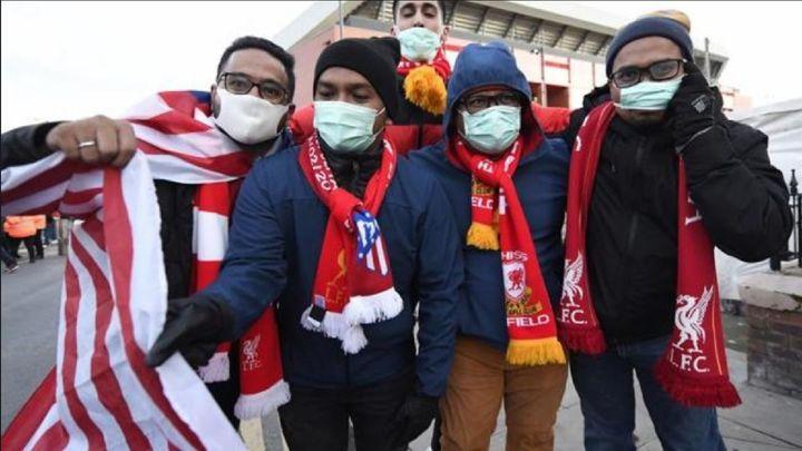Un estudio británico vincula 41 muertes por coronavirus por el Liverpool-Atlético