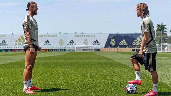 Ramos y Modric rememoran el histórico minuto 93 que condujo a la Décima