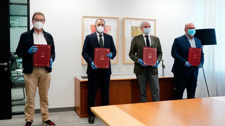 Acuerdo en Madrid con los agentes sociales para la prevención de riesgos laborales ante la Covid-19