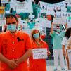 Los sanitarios salen a la calle para pedir mejores condiciones laborales