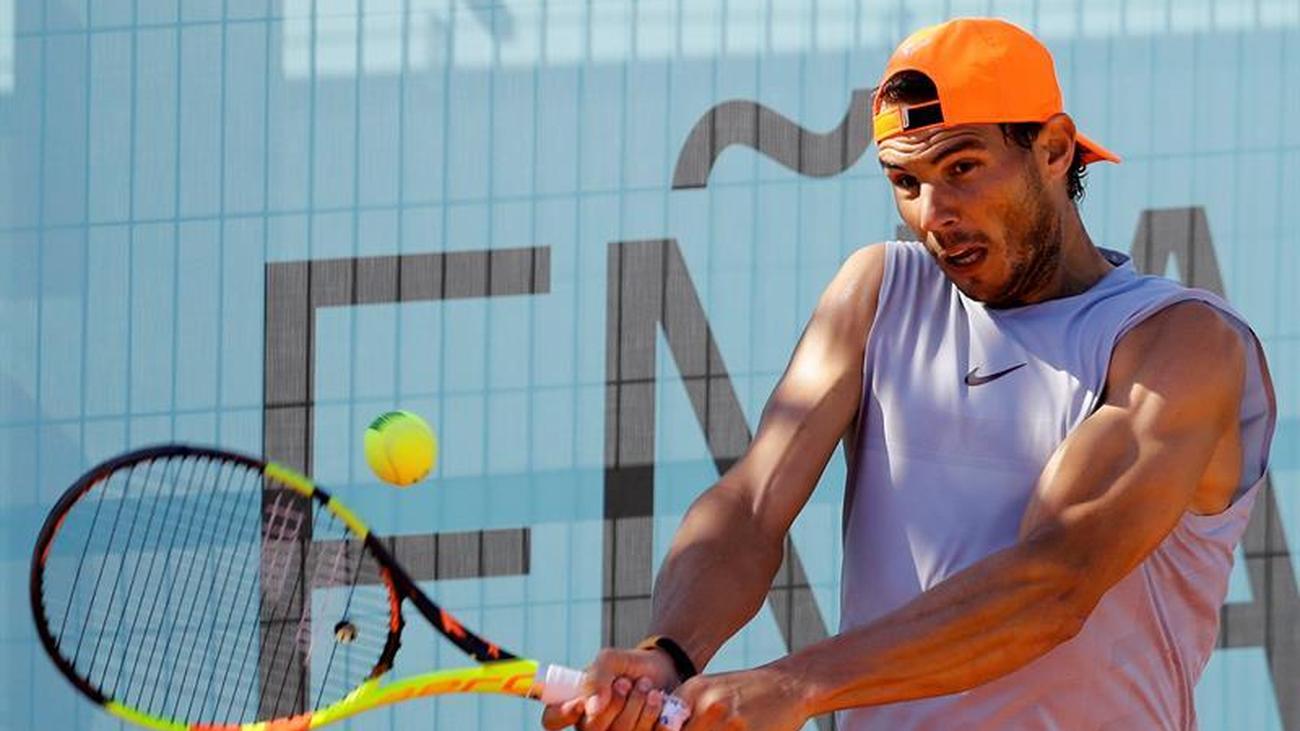 """Nadal confiesa que se siente """"muy contento de volver a jugar tenis"""""""