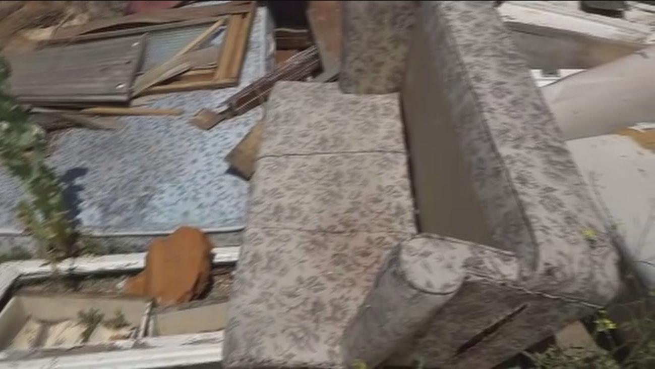 Denuncian un vertedero ilegal en San Fernando de Henares