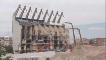 Así desaparece el estadio Vicente Calderón