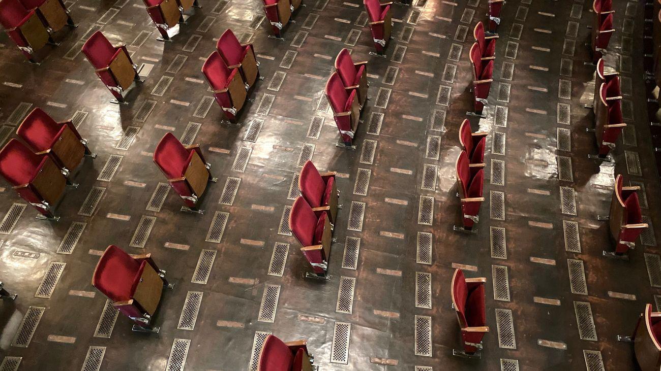 Imagen del Berliner Ensemble para afrontar la apertura del teatro durante la crisis del coronavirus