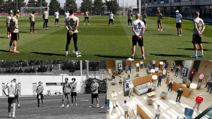 Los equipos madrileños de fútbol se unen al luto oficial decretado por el Gobierno