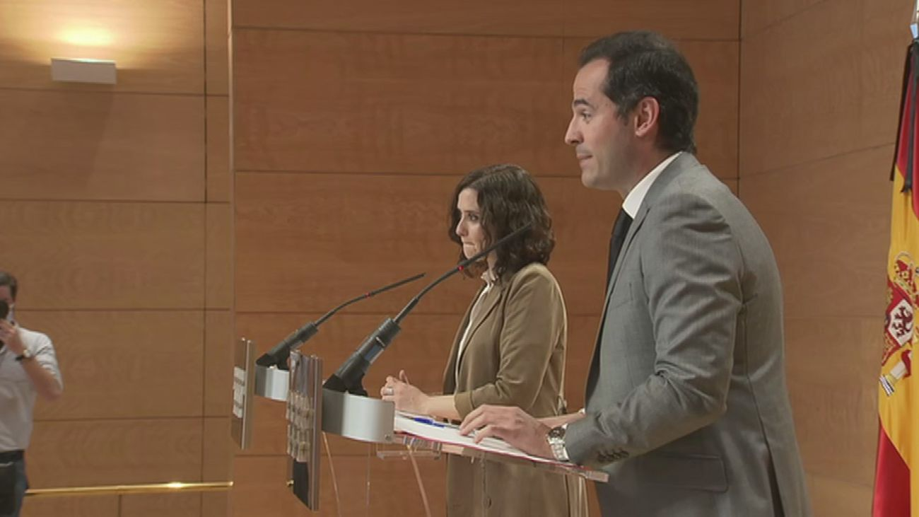 """""""A día de hoy, ni moción de censura ni adelanto electoral en Madrid"""""""