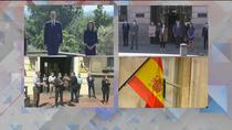 Sentido minuto de silencio en Zarzuela, Moncloa y en el Consejo de Gobierno de Madrid