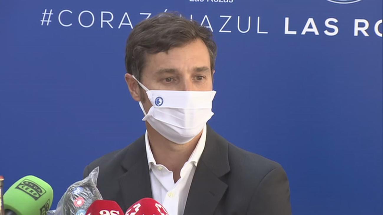 """Iván Helguera, presentado en Las Rozas: """"Tengo mucha ilusión y ganas"""""""