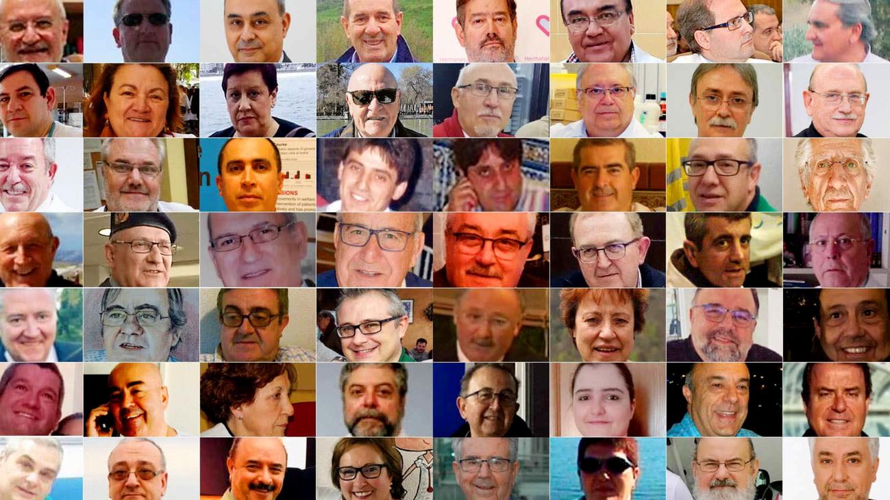 Madrid se enmudece para gritar que no se olvida de los muertos por la covid-19
