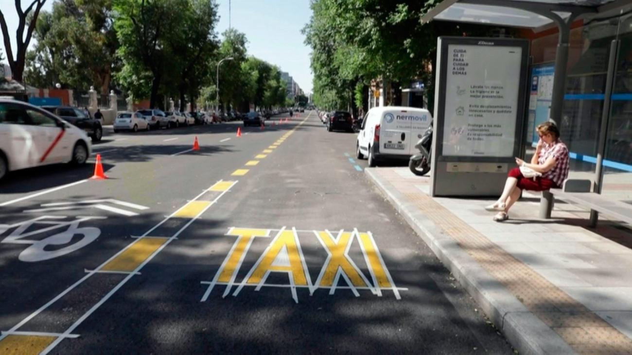 """Los vecinos de Concha Espina no quieren un carril bus en su calle por""""innecesario"""""""