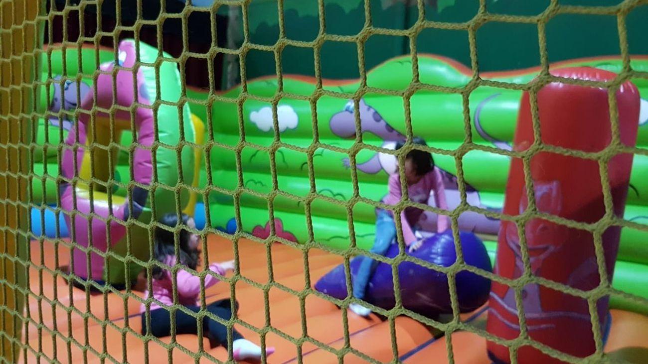 Parque infantil Legapark, en Leganés