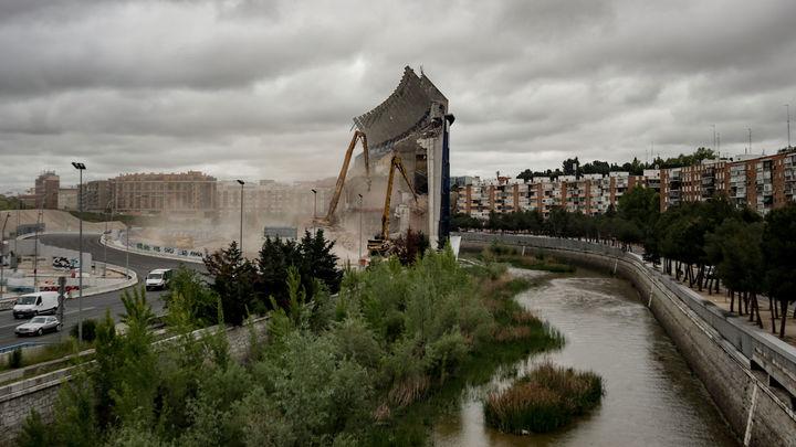 Los daños que puede tener el Manzanares por la demolición del Calderón