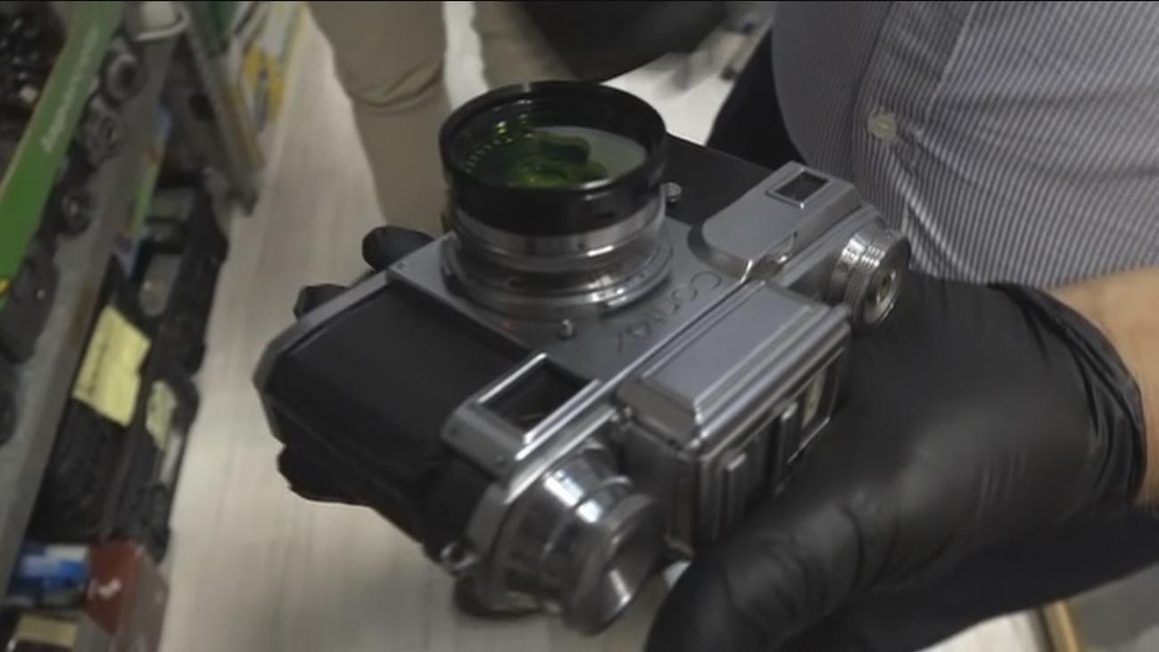 Liquidación de cámaras analógicas en Chamberí