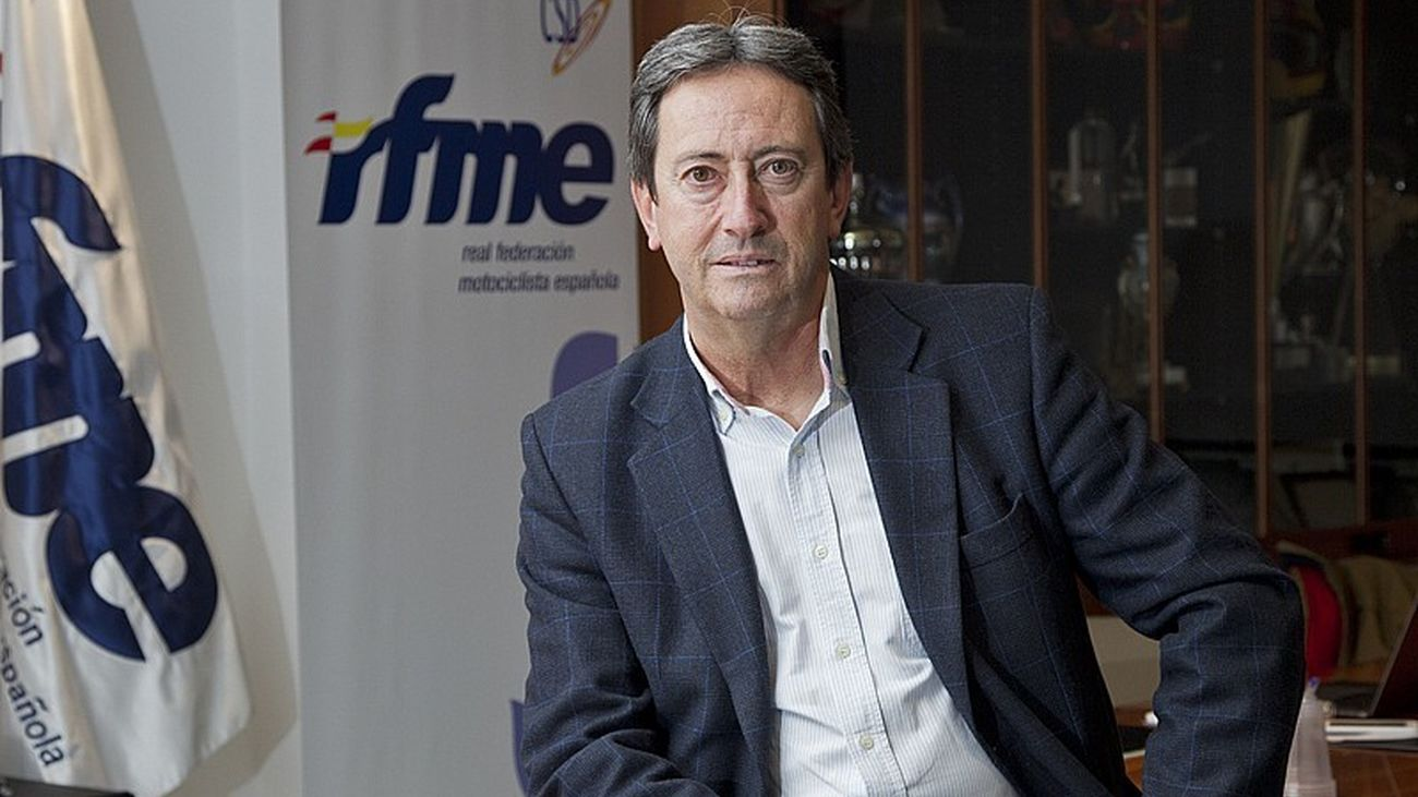 Manuel Casado, presidente de la Federación Motociclista Española (RFME)