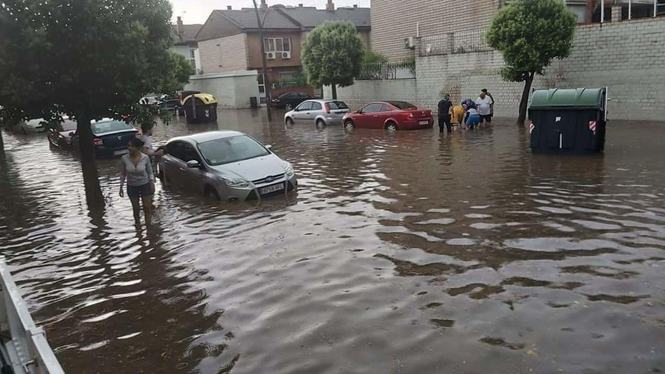 Inundación en Perales del Río
