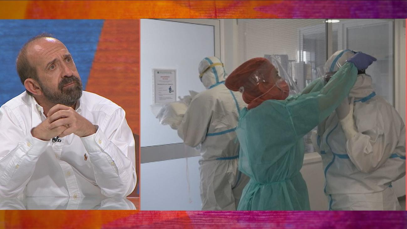 """Doctor Santiago Moreno: """"Creía que me iba al otro barrio"""""""