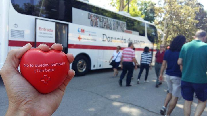 Cruz Roja convoca una campaña de donación de sangre en Alcobendas y Sanse