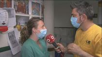 """Médicos del Marañón: """"Hemos hecho un 'master en incertidumbre', con un desgaste muy fuerte"""""""