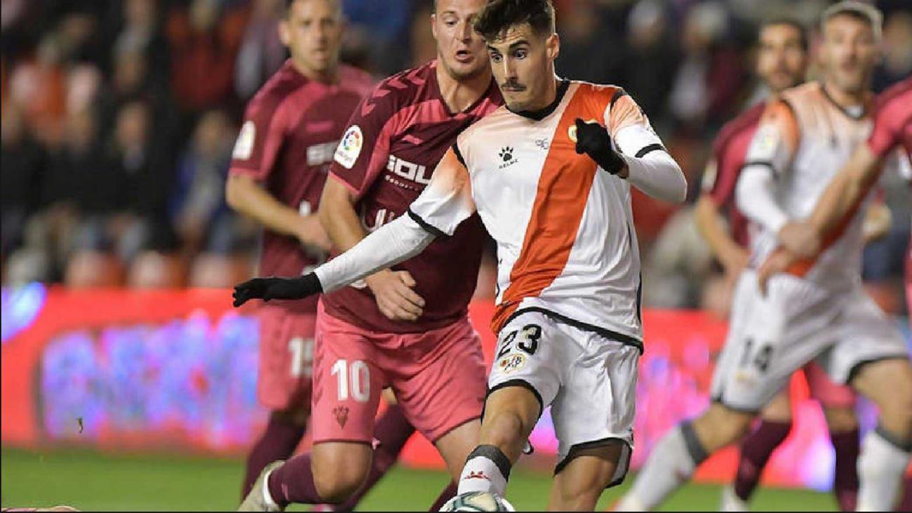 Adelantan el Rayo-Albacete al 10 de junio y será el primer partido del regreso del fútbol