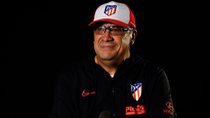 El 'Mono' Burgos dice adiós al Atleti