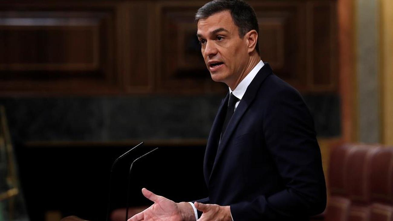 """Sánchez rechaza el """"veneno del odio"""" y  proclama: """"Lo digo alto y claro, viva el 8 de marzo"""""""
