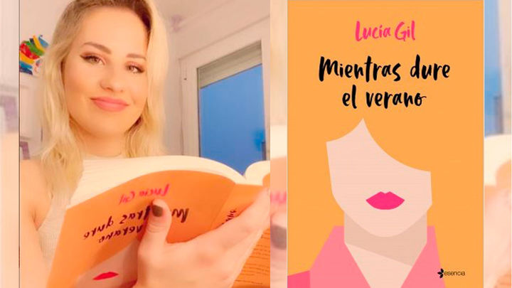 La cantante y actriz Lucía Gil da el salto a la novela con 'Mientras dure el verano'