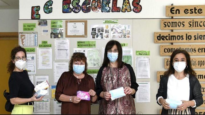 Pozuelo reparte cerca de 6.000 mascarillas infantiles a colegios de la ciudad