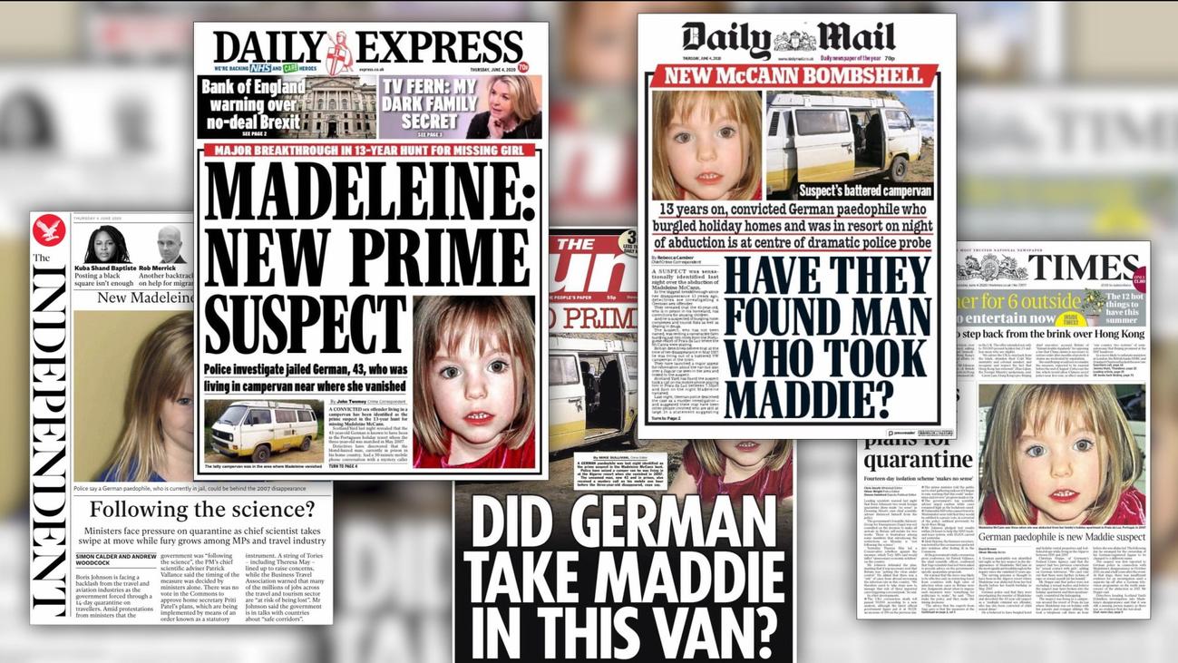 La policía sostiene que Madeleine está muerta y fue asesinada por un depredador sexual