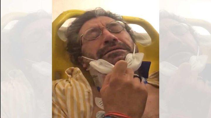 La denuncia, entre lágrimas,  de un ciclista que fue atropellado en Madrid
