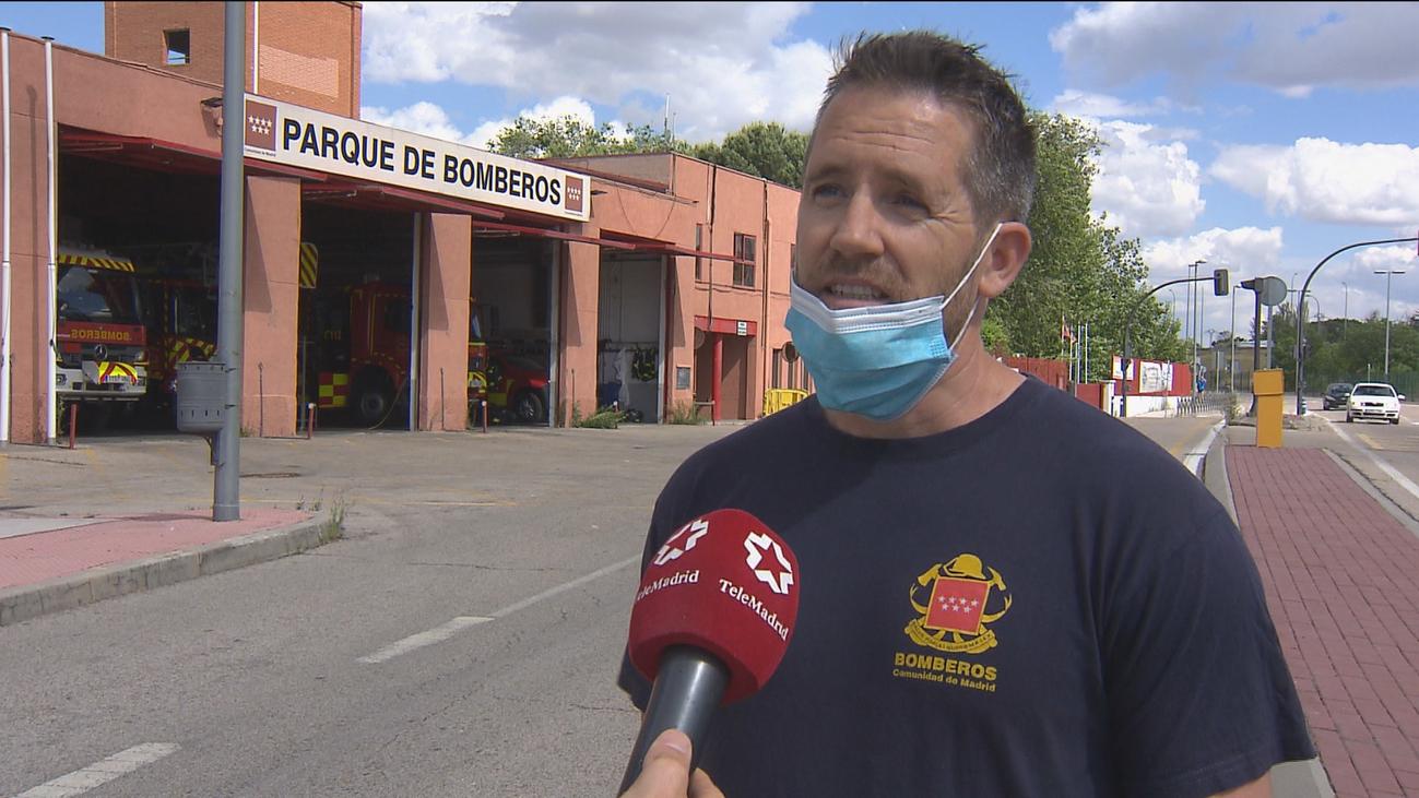Los bomberos de Alcobendas llevan diez años conviviendo con los roedores