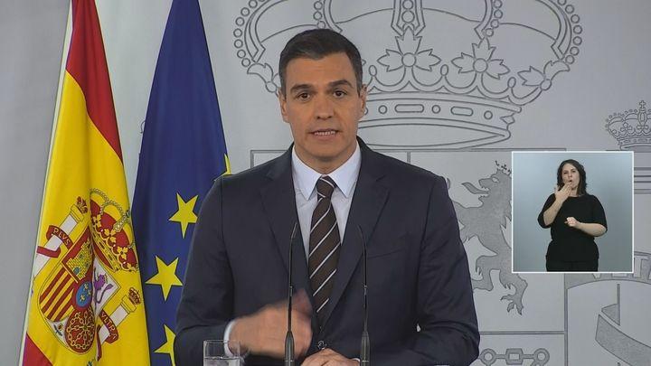 Sánchez avanza que 255.000 españoles recibirán a final de mes el nuevo Ingreso Mínimo Vital
