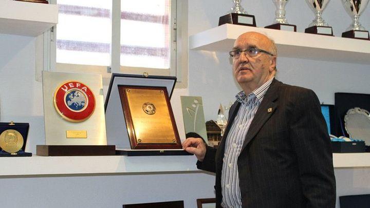 Adiós a 'Manolo', el histórico presidente del CD Canillas