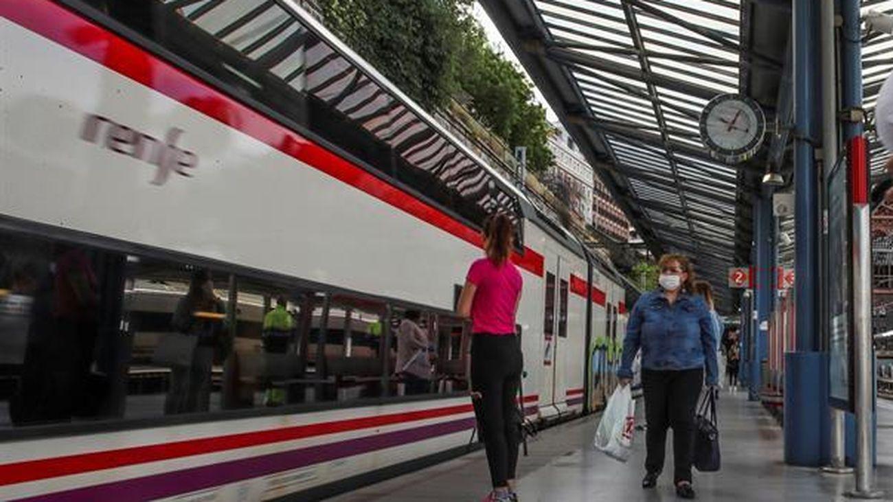 Los trenes de Cercanías también amplían sus frecuencias