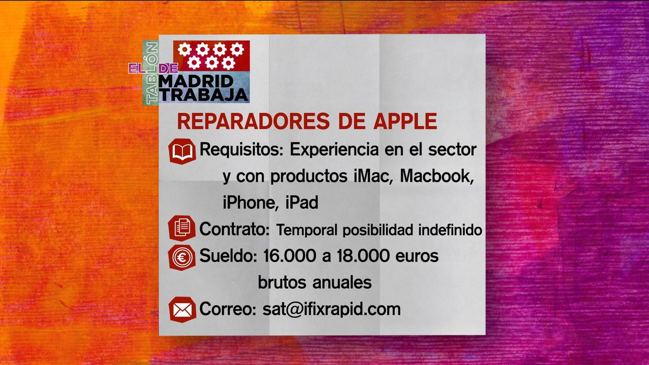 Se buscan reparadores de Apple